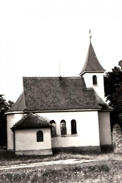 Kaple sv. Cyrila a Metoděje v Lesním Jakubově. Foto archiv rodiny Liškovy