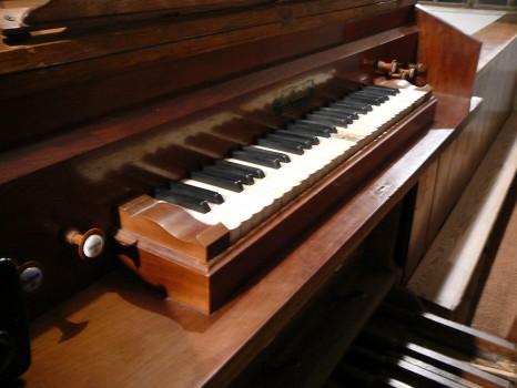 varhany - původní manuál