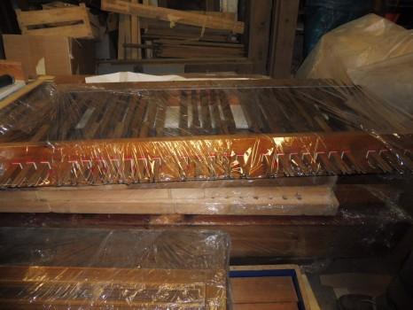 varhany - pedály, opravené, ač tak nevypadají